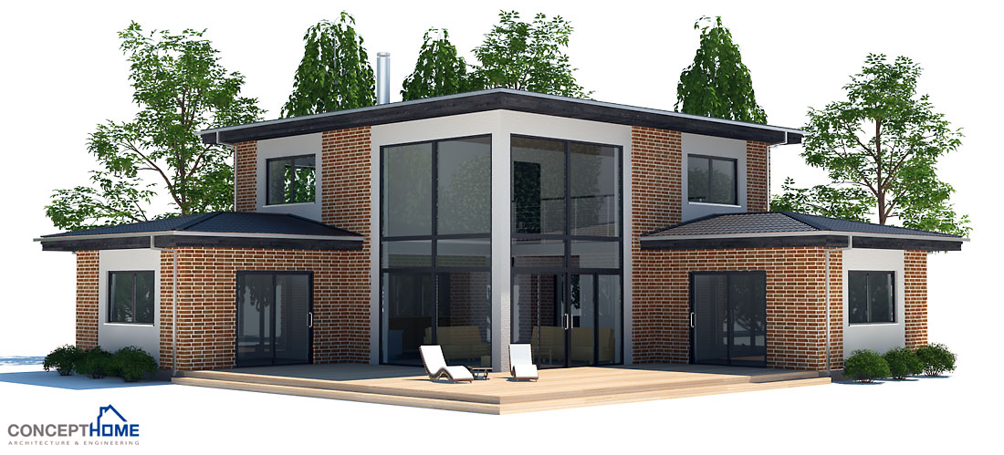 Affordable Home CH18 House Design In Modern Architecture