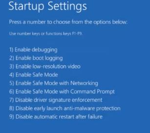 How to windows 10 safe mode