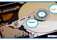 basic disk Vs Dynamic Disk