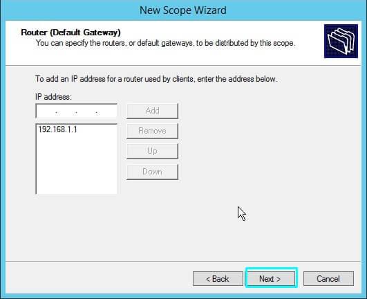 gateway IP