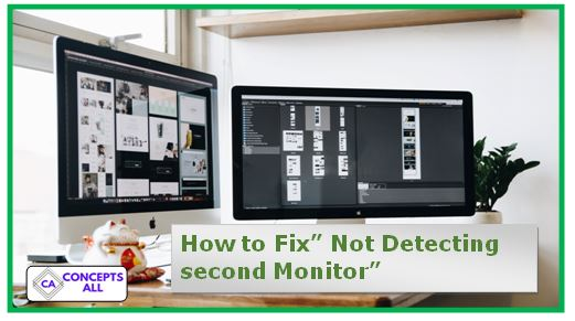 not detecting second monitor