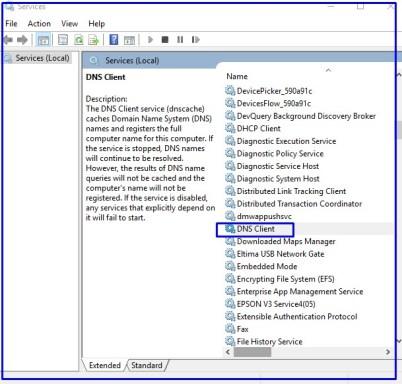 DNS client Services