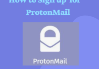 Sign up for ProtonMail