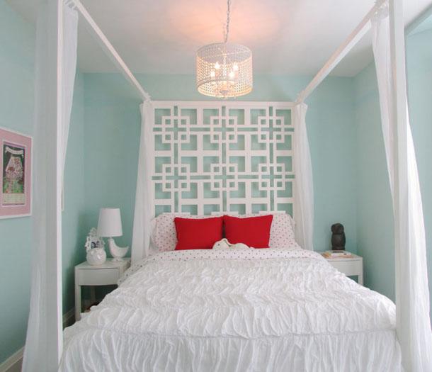 Raindrop bedroom paint color