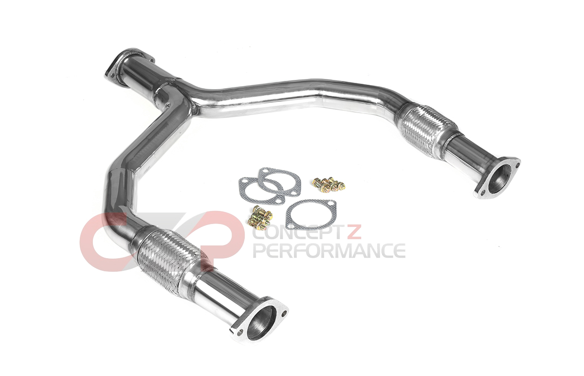 Top Speed Pro 1 Y Pipe Nissan 09 370z Z34 Tp Vpz34