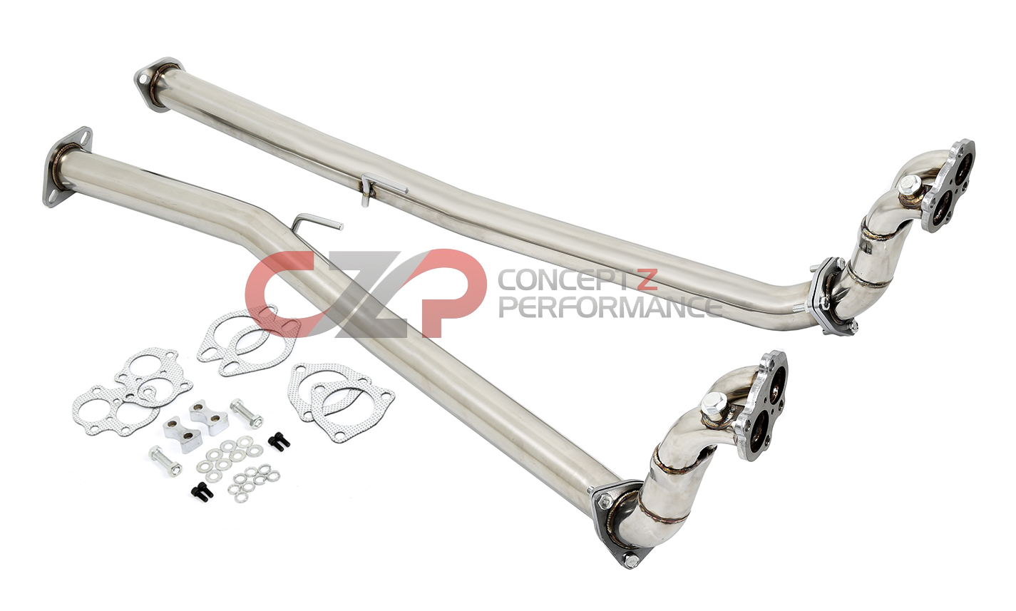 Dna 300zx Downpipe Test Pipe Set 60mm 90 96 Z32 Tp 117