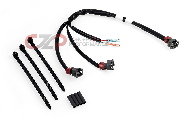 Nissan Oem 300zx Fuel Injector Connectors 90 92 Na 93cv