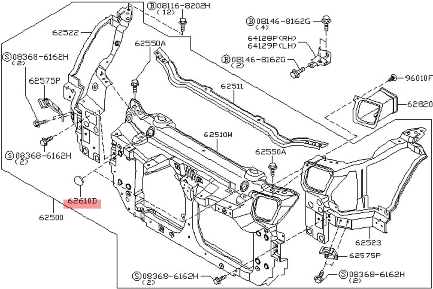 Nissan Altima Radiator Diagram