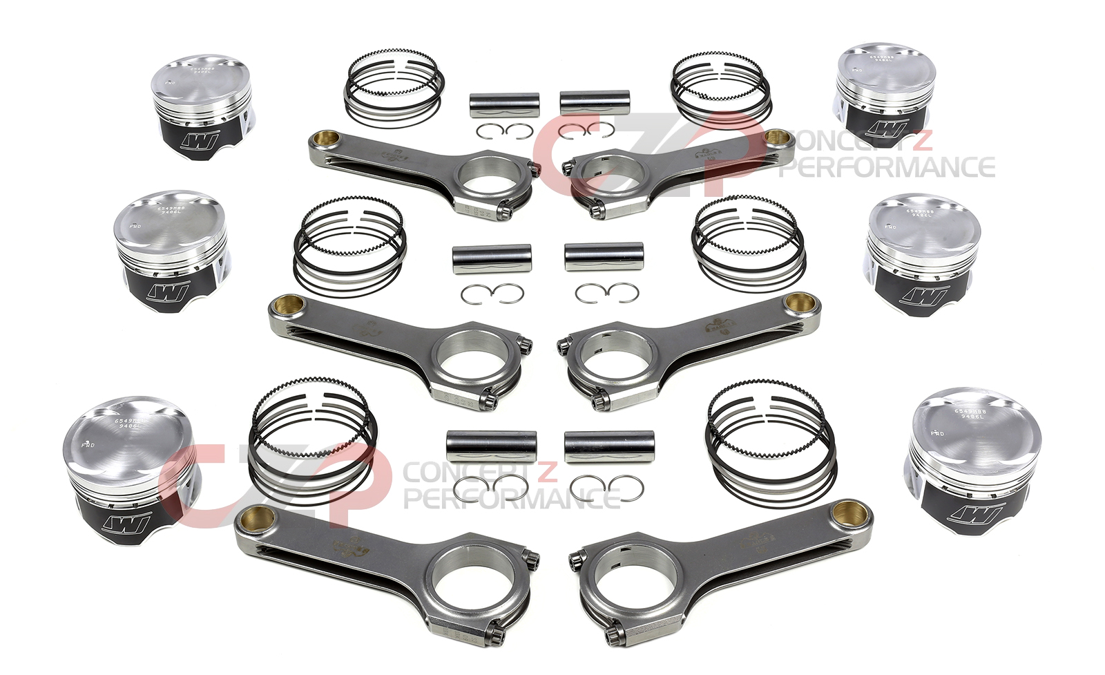 Engine Rotating Assembly Connecting Rods