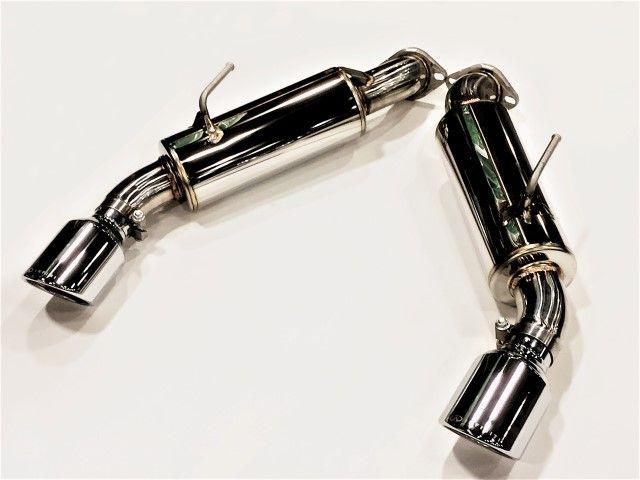 nissan infiniti infiniti sport exhaust kit with mufflers axle back exhaust system infiniti q50 16 v37 b0100 q50wm concept z performance