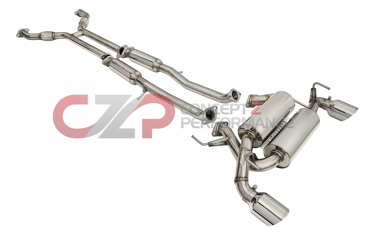 z34 exhaust system concept z performance