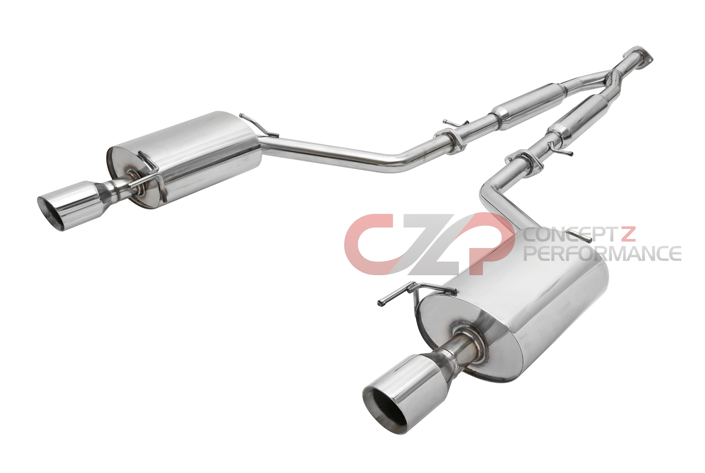v36 exhaust system exhaust systems kits concept z performance