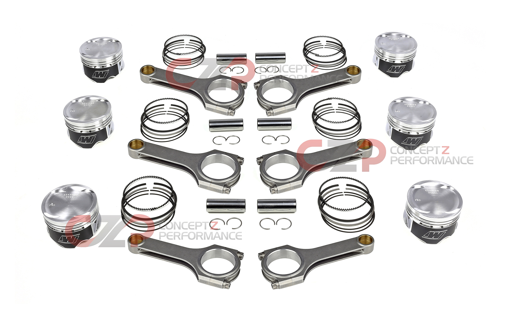 Wiseco Pistons Brian Crower Sportman Connecting Rods
