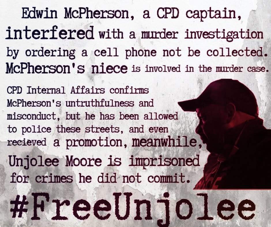 Free Unjolee Moore: Updates and Next Steps – Concerned