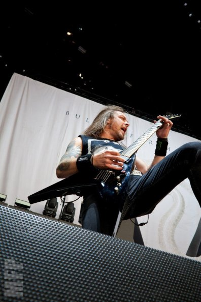 Michael Paget of Bullet for My Valentine © Michael Ford