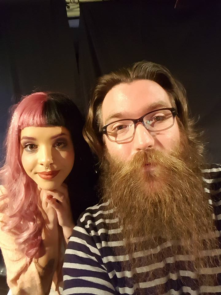 Melanie Martinez and Jamie Taylor at the vogue theatre February 2016