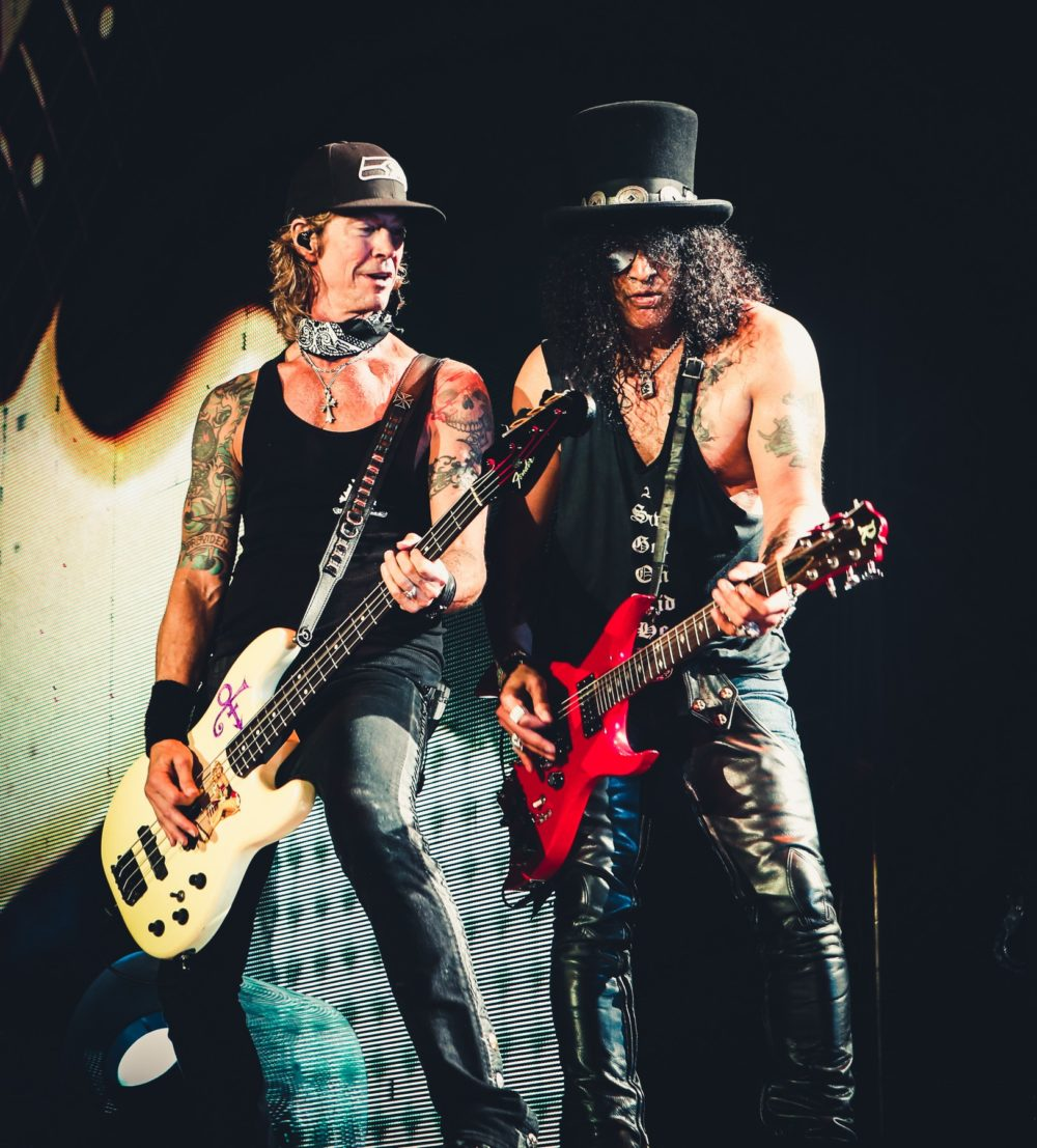 slash and duff of Guns N Roses seattle centurylink field august 12 2016_A94A2625