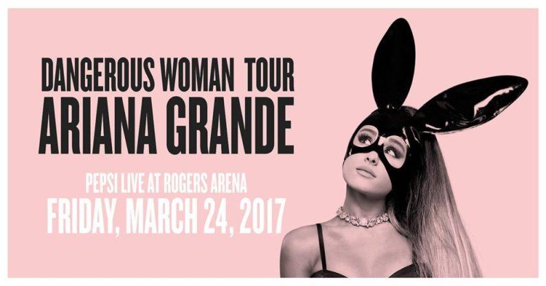 dangerous woman tour ariana grande 2017
