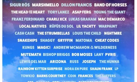 2017 Hangouts Music Festival Lineup poster