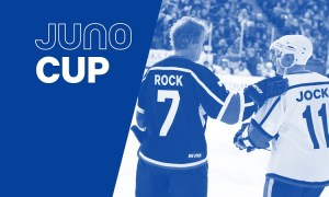 JUNO Cup 2018 - Celebrity Hockey Game at Bill Copeland Sports Centre