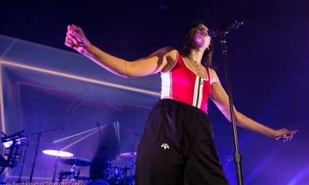Photos of Dua Lipa at The Vogue Theatre in Vancouver, BC on February 16th, 2018