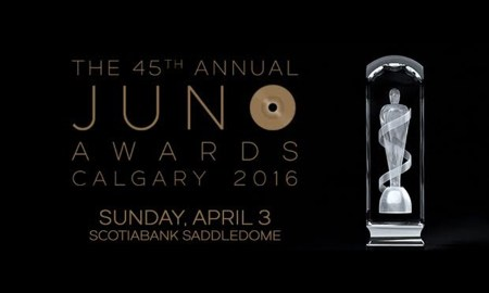 The JUNO Awards 2016 hosted by Jann Arden + Jon Montgomery at Scotiabank Saddledome - April 02nd, 2016