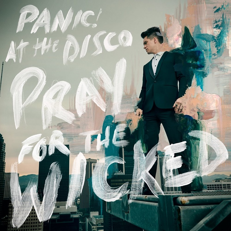 panic at the disco, pray for the wicked album cover 2018