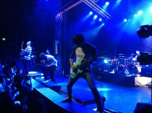 JB Brubaker shredding during one of his many song solos.