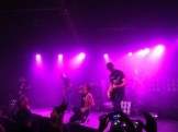 Winston McCall leads Parkway Drive and screams his lungs out.