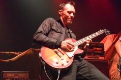 Guido Johnson shreds on his solo.
