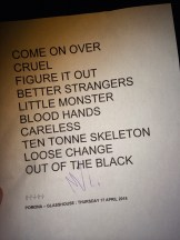 Royal Blood setlist