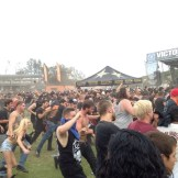 Huge circle pit started by Whitechapel