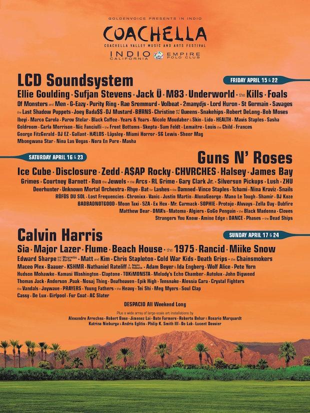 Coachella 2016 - Poster