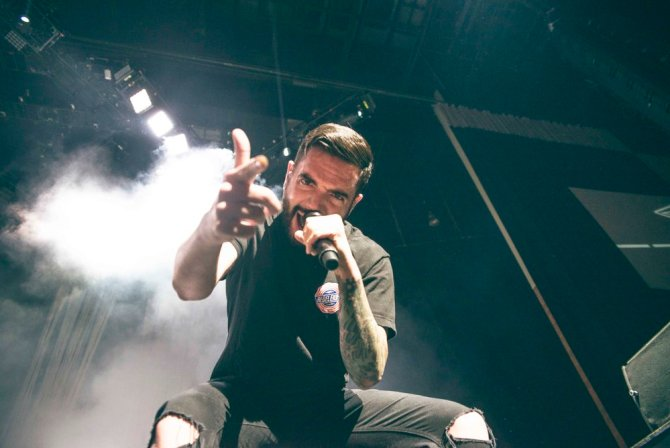 A Day to Remember brings the noise to New England at a sold out pop punk concert.