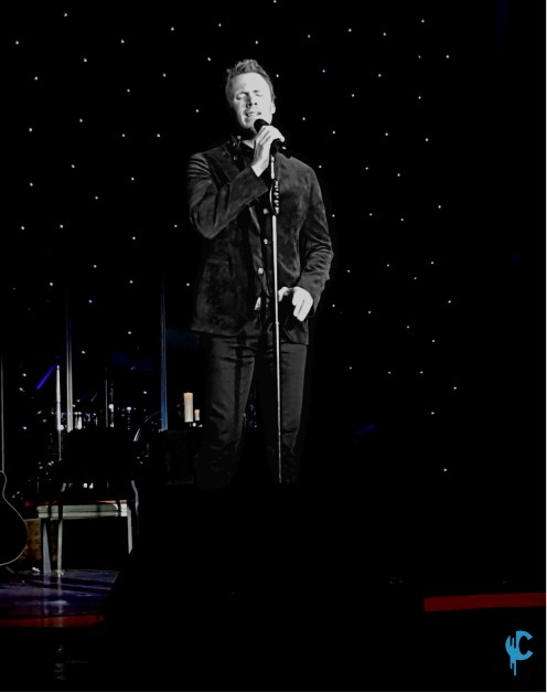 Fraser Walters of The Tenors