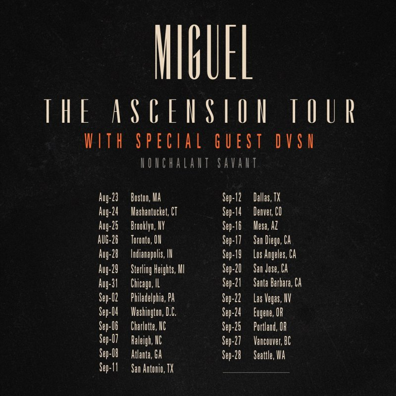 The Ascension Tour