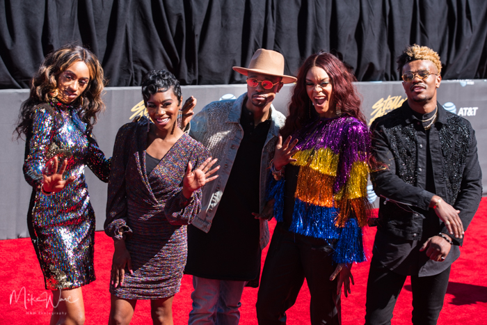 Shelby 5 at the 34th Stellar Awards held at Orleans Arena, Las Vegas on March 29, 2019 in Las Vegas, NV, USA (Photo by: Mike Ware/Sipa USA)