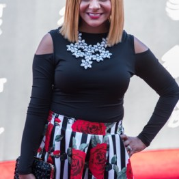 Isabel Davis at the 34th Stellar Awards held at Orleans Arena, Las Vegas on March 29, 2019 in Las Vegas, NV, USA (Photo by: Mike Ware/Sipa USA)