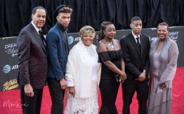 Family of Arteha Franklin at the 34th Stellar Awards held at Orleans Arena, Las Vegas on March 29, 2019 in Las Vegas, NV, USA (Photo by: Mike Ware/Sipa USA)