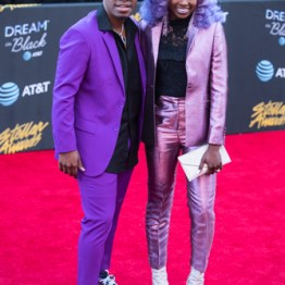 Jor'dan Armstrong at the 34th Stellar Awards held at Orleans Arena, Las Vegas on March 29, 2019 in Las Vegas, NV, USA (Photo by: Mike Ware/Sipa USA)