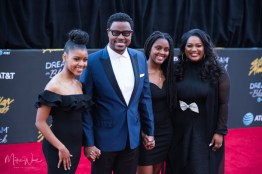 Charles Jenkins & Family at the 34th Stellar Awards held at Orleans Arena, Las Vegas on March 29, 2019 in Las Vegas, NV, USA (Photo by: Mike Ware/Sipa USA)