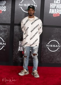 Rapper Benny the Butcher- on the Red Carpet 2021 BET Hip Hop Awards, Atlanta, Ga. 10-1-21 (Photo By: Mike Ware/SIPA USA)