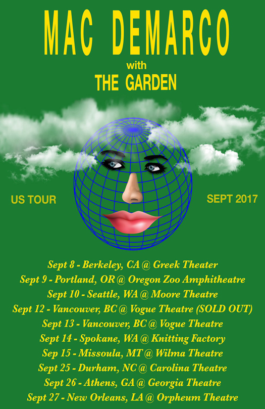 mac demarco poster concert grn dates 11