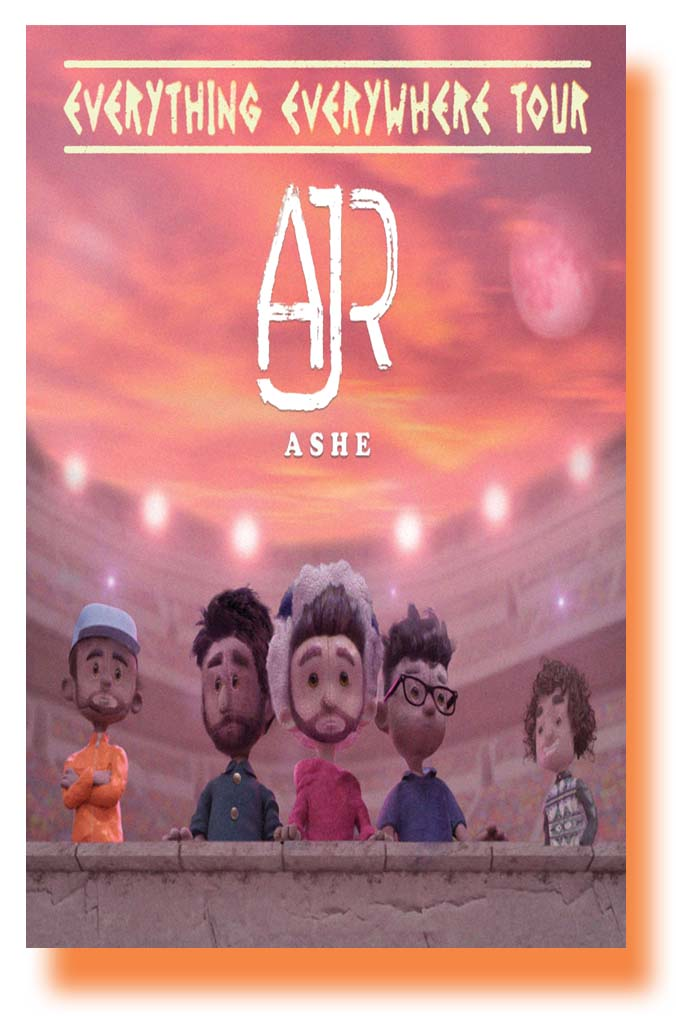 ajr poster concert everything