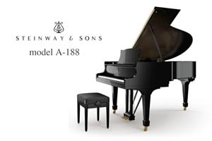 piano de concert Steinway A 188 prévalet Dijon