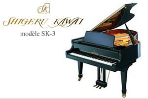Shigeru Kawai SK-3 Piano de concert Prévalet Musique