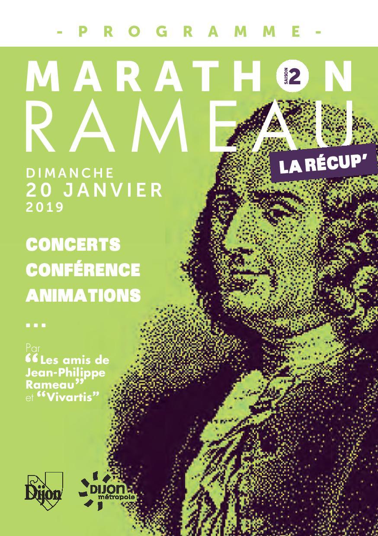 Marathon Rameau Dijon / piano Prévalet Musique