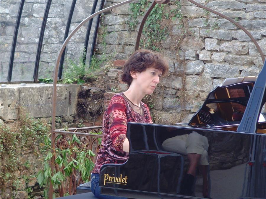 Festival de la serre de Caret Potet à Buxy, pianos prévalet Musique