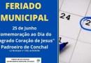 Sexta-feira, dia 25, será feriado municipal em Conchal, em comemoração ao Dia do Padroeiro