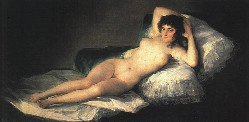 Maya desnuda